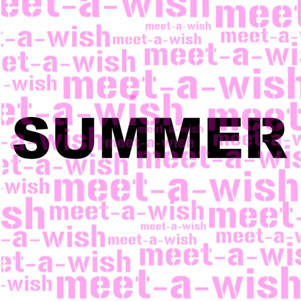 Glitzertattoo und Airbrush Schablone - Summer