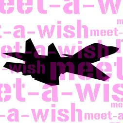 Glitzertattoo und Airbrush Schablone - F18 Hornet