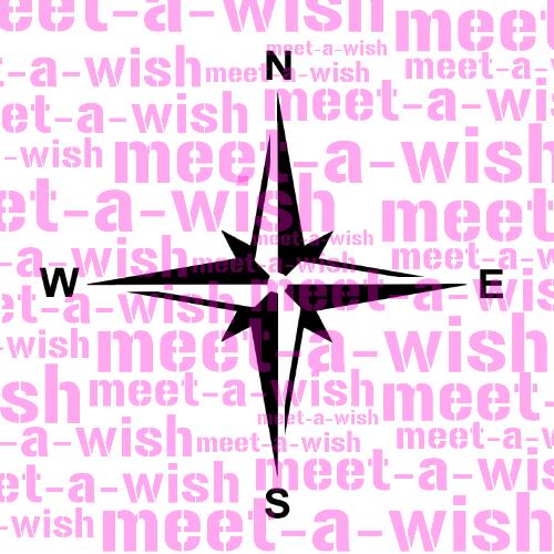 Glitzertattoo und Airbrush Schablone - Kompass