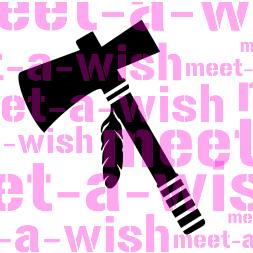 Glitzertattoo und Airbrush Schablone - Tomerhawk