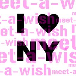 Glitzertattoo und Airbrush Schablone - I Love NY