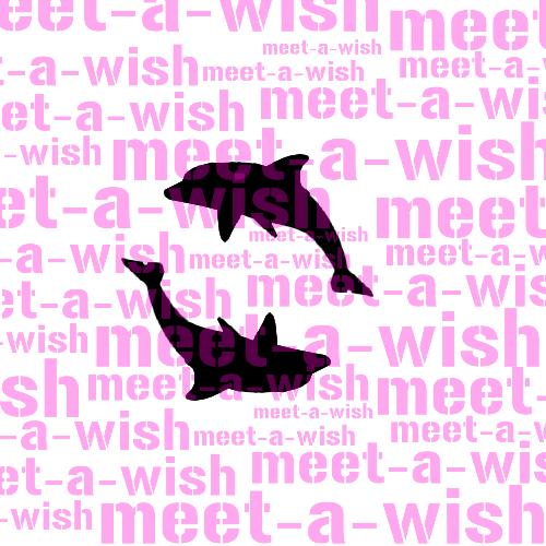 Glitzertattoo und Airbrush Schablone - Delfine