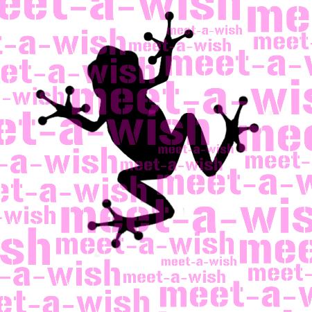 Glitzertattoo und Airbrush Schablone - Frosch