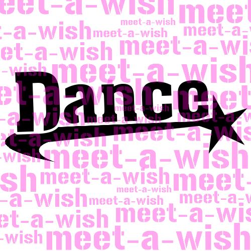 Glitzertattoo und Airbrush Schablone - Dance