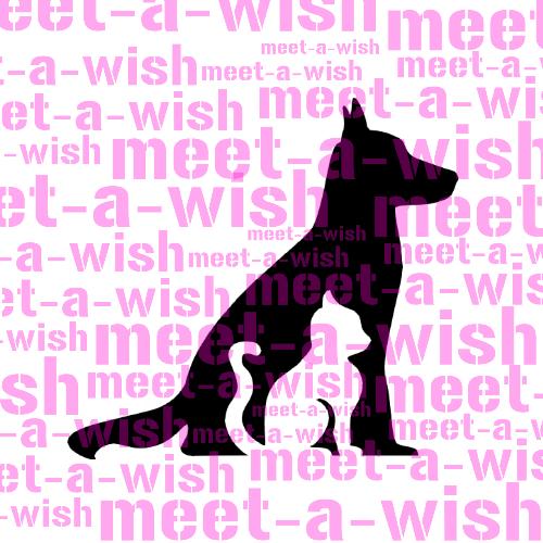Glitzertattoo und Airbrush Schablone - Hund und Katze