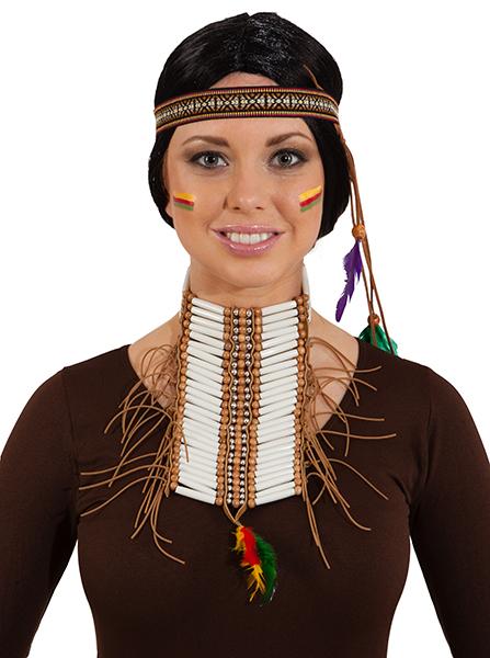 indianer kopfband accessoires fasching fasching halloween meet a wish. Black Bedroom Furniture Sets. Home Design Ideas