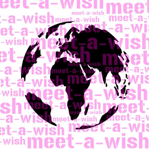 Glitzertattoo und Airbrush Schablone - Welt