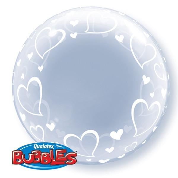 Deco Bubble - Elegant mit Herzen