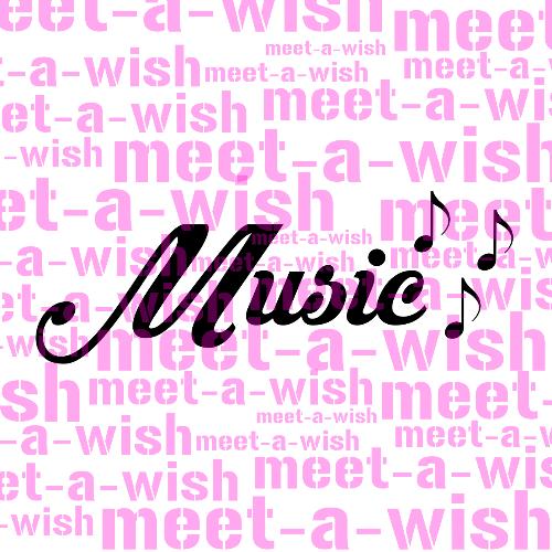 Glitzertattoo und Airbrush Schablone - Music