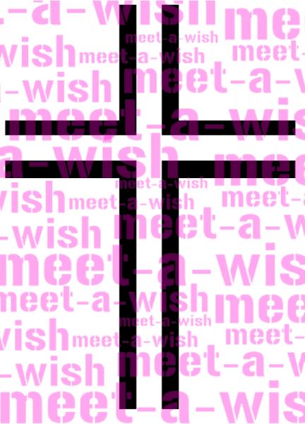 Glitzertattoo und Airbrush Schablone - Kreuz