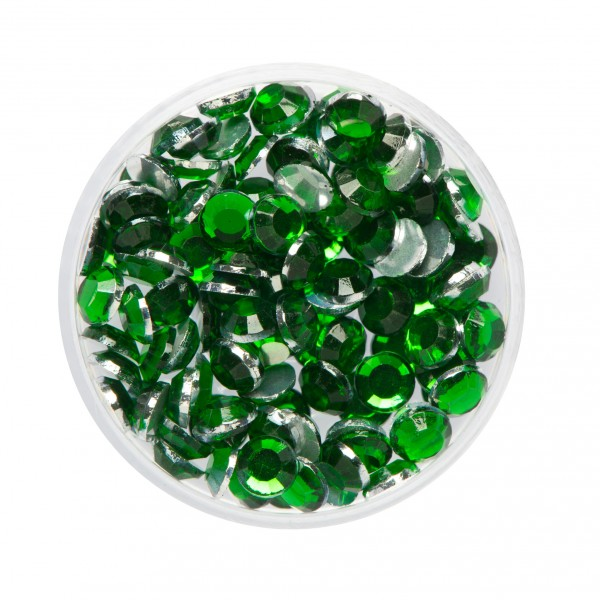 Strass-Steine Smaragd