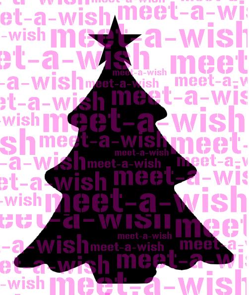 Glitzertattoo und Airbrush Schablone - Weihnachtsbaum