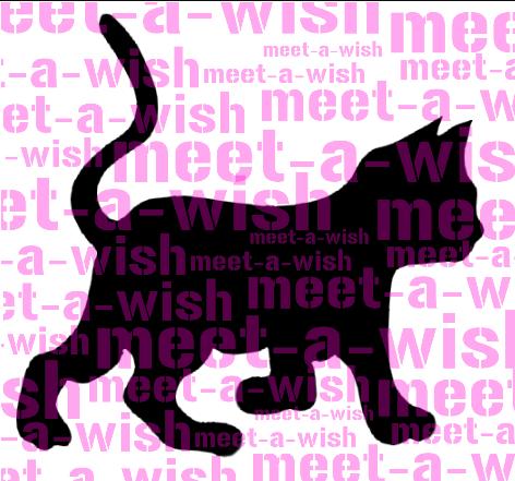 Glitzertattoo und Airbrush Schablone - Katze