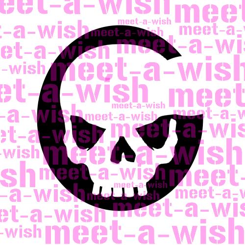 Glitzertattoo und Airbrush Schablone - Skull