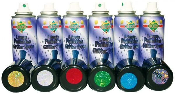 Glitzer oder Effekt Haarspray