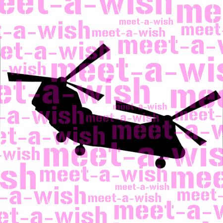 Glitzertattoo und Airbrush Schablone - Hubschrauber Chinook