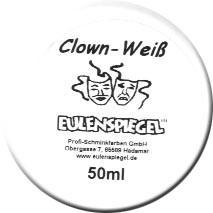 Clown-Weiß