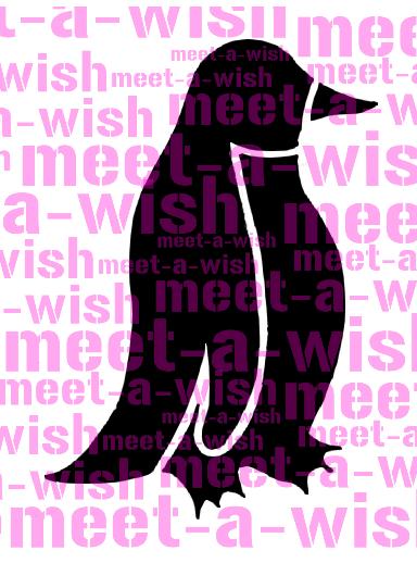 Glitzertattoo und Airbrush Schablone - Pinguin