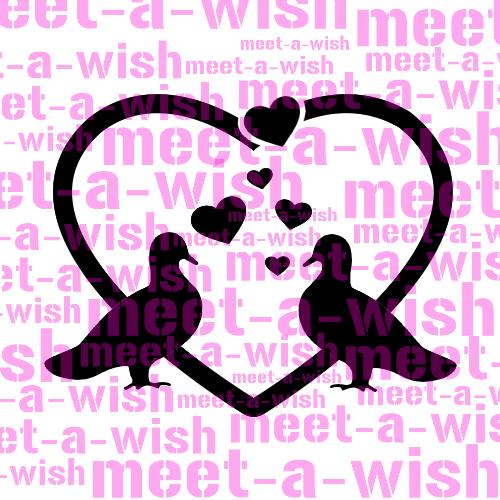 Glitzertattoo und Airbrush Schablone - Tauben in Love