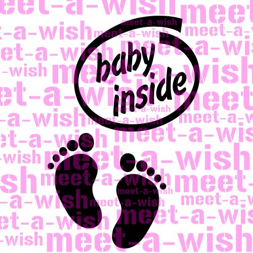 Big Tattoo Schablone Baby Inside
