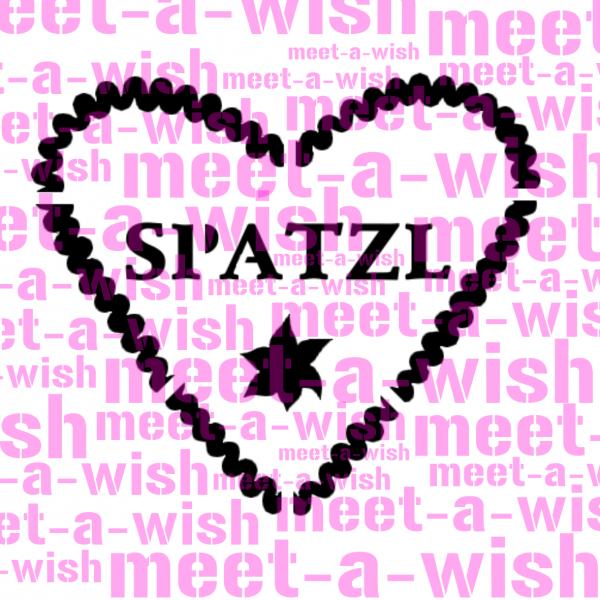 Glitzertattoo und Airbrush Schablone - Spatzl