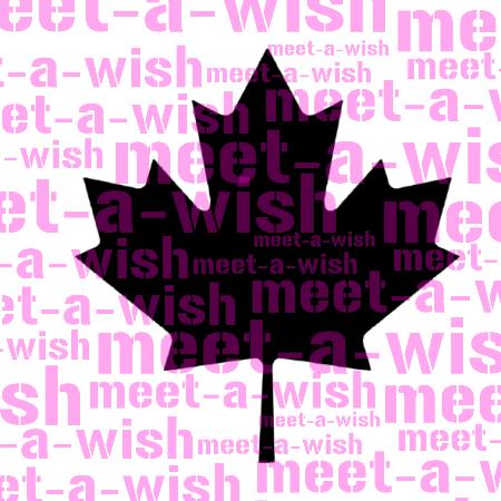 Glitzertattoo und Airbrush Schablone - Kanada