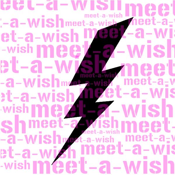 Glitzertattoo und Airbrush Schablone - Blitz