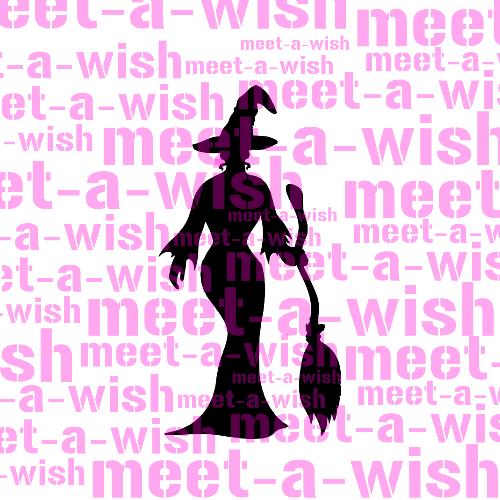 Glitzertattoo und Airbrush Schablone - Sexy Hexe